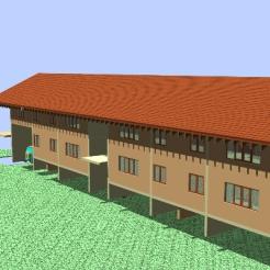 Design for dormitory in Georgia