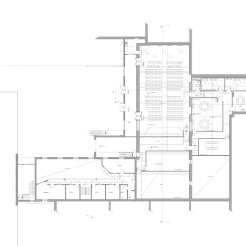 Design proposal for a mezzanine level