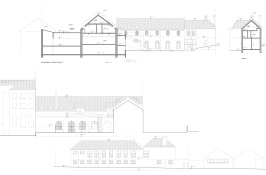 As-built - South and East elevations